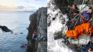 The £500-a-Night 'Portaledge Hotel' Where Guests Sleep Dangling from a Welsh Cliff