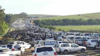 Huge Turnout for Black Monday Protest Against Farm Murders in South Africa