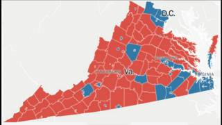 Virginia: Massive Nonwhite Turnout Seals Democrat Win