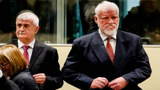 "Bosnian Croat ex-General Slobodan Praljak Dies in the Hague After Drinking Poison in Court, Yelling ""I'm not a War Criminal!"""