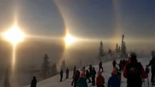 Sun Halo: Rare Weather Phenomenon Spotted in Sweden