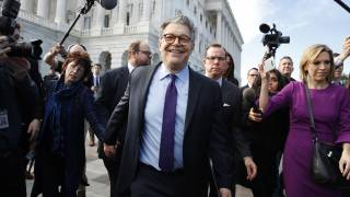 Al Franken Resigns from Senate Over Sexual Misconduct Allegations