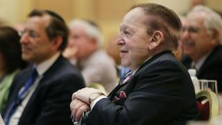 A Majority of One Is Pushing for Embassy Move — Sheldon Adelson
