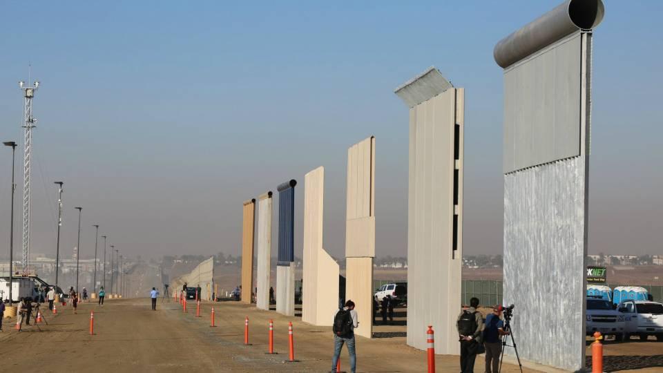 Trump Wall Prototype Tests Begin