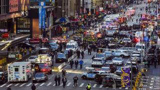 Botched Suicide Bombing Jolts New York Rush Hour, Injures Four