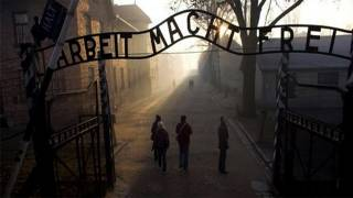 Poland Jails Belarussians Who Stripped Naked at Auschwitz
