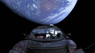 SpaceX's Falcon Heavy Launches Tesla Roadster and Starman into Space