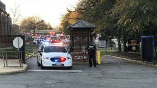 Hazmat Situation at Marine Corps Headquarters