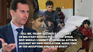Airstrike hit T-4 Airbase in Syria after deadly chemical attack is blamed on Assad