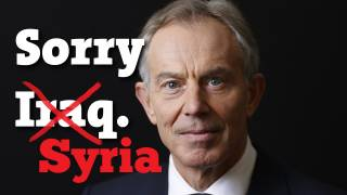 War Lobby Rolls Out Tony Blair! to Plead for War