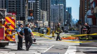Man Arrested After Toronto Terrorist Attack Charged with 10 Counts of First-Degree Murder
