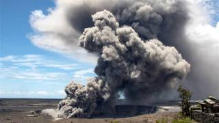 Explosive Eruption at Kilauea Summit Sends Ash 30,000 Feet into Sky
