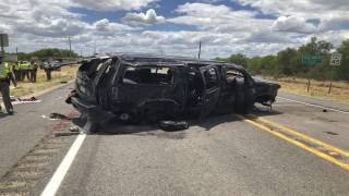 Vehicle Fleeing Border Patrol in Texas Crashes, Leaves Five Dead