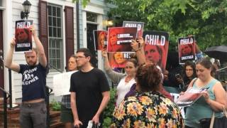 Leftist Mob Descends on DHS Secretary Kirstjen Nielsen's Home