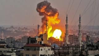 Israel Launches Massive Air Raid on Gaza