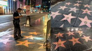 After Being Destroyed, Trump's Walk of Fame Star Multiplies