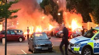 Inferno in Sweden as Gangs Make Coordinated Arson Attacks at Three Locations
