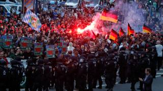 Thousands Riot in the Streets of German City Following Fatal Stabbing by Migrants