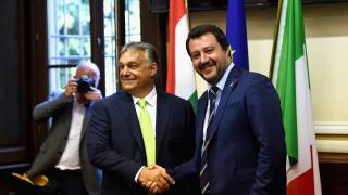 Orbán, Salvini Set to Take On Globalism at EU Elections with Anti-Migration Front
