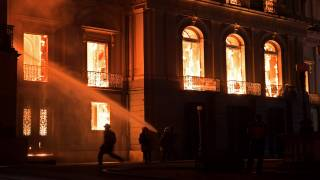 Fire Engulfs Major Brazilian Museum
