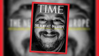 Matteo Salvini on Time Magazine Cover, 'The New Face of Europe'