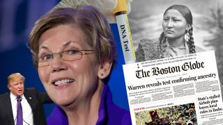 "Elizabeth ""Pocahontas"" Warren Is Now A ""Native American"", DNA Test Allegedly Shows One In Her Family 6 - 10 Generations Back"