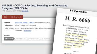 HR 6666: Congress Introduces Bill To Allow Government To Mass Test Americans For COVID-19 In Their Homes
