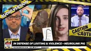 No-Go Zone: In Defense of Looting & Violence + Neurolink Pig