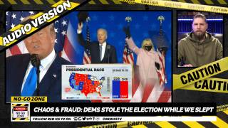 No-Go Zone: CHAOS & FRAUD: Dems Stole The Election While We Slept