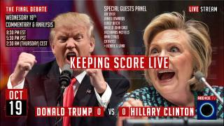 The Final Presidential Debate Live: Trump vs Hillary, Nationalism vs Globalism