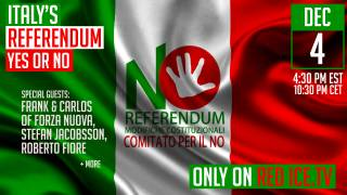 Italy Referendum Live Coverage