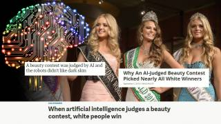 Red Ice Live - Robots Judge Beauty Contest & Prefer Mostly Europeans