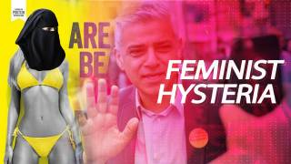 Red Ice Live - Feminist Hysteria: Muslim Mayor of London Bans Ads Featuring Sexy Women
