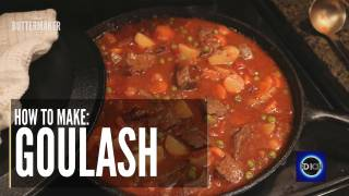 Blonde Buttermaker - How to Make Goulash