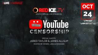 YouTube Censorship Surge with Jared Taylor & James Allsup