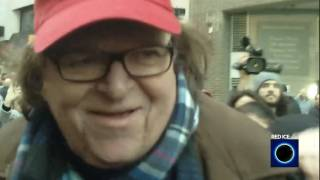 Michael Moore Confronted by the Alt-Right