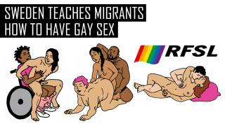 Sweden Teaches Migrants How to Have Gay Sex