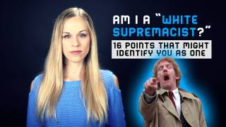 "Am I a ""White Supremacist?"""