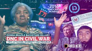 Donna Brazile Backstabs Hillary, DNC in Civil War & Diversity Visa Terrorism