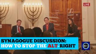 Pseudo Intellectual Media Pundits Speculate on How to Stop The Alt-Right ...In A Synagogue