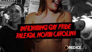 Infiltrating Raleigh Gay Pride 2017