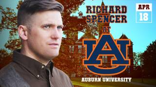 Richard Spencer at Auburn, AL