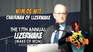 Wim De Wit Speaking at Ijzerwake 2017