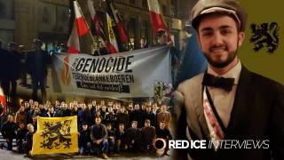 Flemish Nationalist Student Association Protest Genocide of White Farmers in South Africa