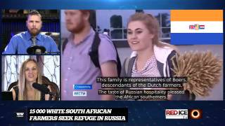 Russia Accepts 15 000 White South African Farmers