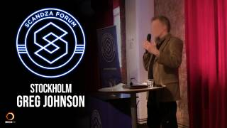 Scandza Forum Stockholm, 2018 - Greg Johnson