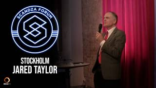 Scandza Forum Stockholm, 2018 - Jared Taylor