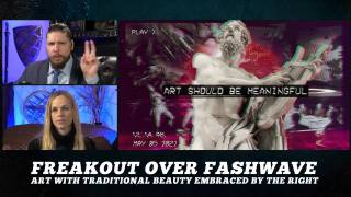 Freak-out Over Fashwave & Art With Traditional Beauty Embraced by the Right