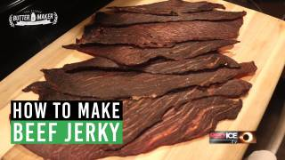 How to Make Beef Jerky - The Blonde Butter Maker