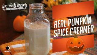 Real Pumpkin Spice Creamer - The Blonde Butter Maker